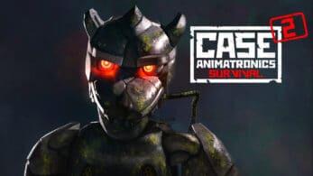 El terrorífico CASE 2: Animatronics Survival llegará este 30 de octubre a Nintendo Switch
