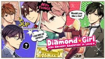Diamond Girl ★An Earnest Education in Love★ llega hoy a Nintendo Switch