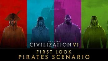 Civilization VI nos muestra en este vídeo su escenario multijugador de piratas