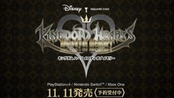 Actualizan la web de Kingdom Hearts: Melody of Memory