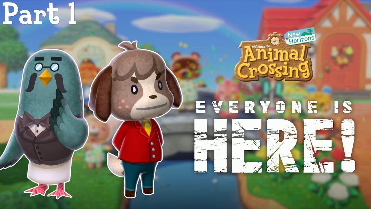 Este vídeo imagina el rol que cumplirían los personajes se la saga que no han aparecido en Animal Crossing: New Horizons