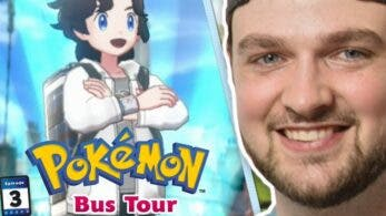 Ya disponible el tercer episodio del Pokémon Bus Tour, protagonizado por Ali-A