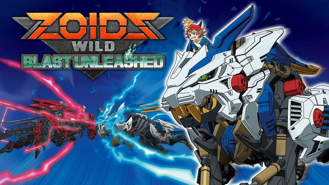 Zoids Wild: Blast Unleashed: Tráiler de lanzamiento y gameplay en Nintendo Switch