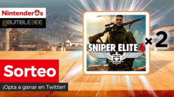 [Act.] ¡Sorteamos 2 copias de Sniper Elite 4 para Nintendo Switch!