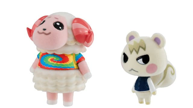Anunciadas 7 adorables figuritas de terciopelo de Animal Crossing: New Horizons