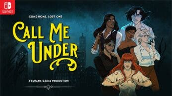 La novela visual LGBTQA+ Call Me Under busca llegar a Nintendo Switch a través de Kickstarter