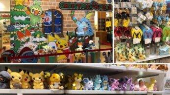 Echad un vistazo a la Pokémon Christmas Store abierta por tiempo limitado en Singapur