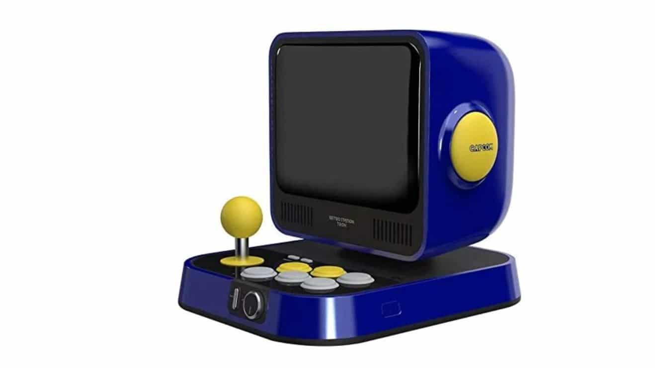 Así es Retro Station, una mini recreativa de Capcom con juegos de Mega Man y Street Fighter