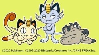 Meowth, Meowth de Alola y Meowth de Galar protagonizan este nuevo fondo de pantalla oficial de Pokémon