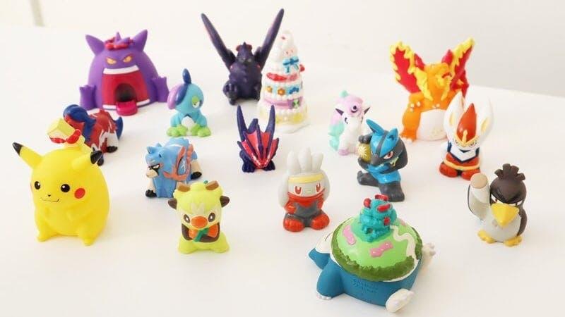 Echad un vistazo a las nuevas colecciones de figuras de Pokémon Kids y los artículos de la nueva colección Pokémon Logo en Japón