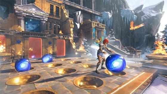 Los responsables de Immortals Fenyx Rising comparten su experiencia creando los deasfíos y puzles del juego