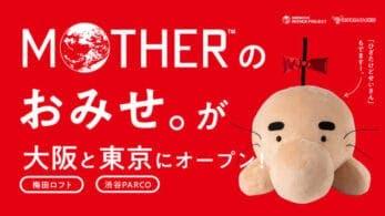 La tienda oficial Mother Shop abrirá temporalmente en Osaka y Tokio, Japón
