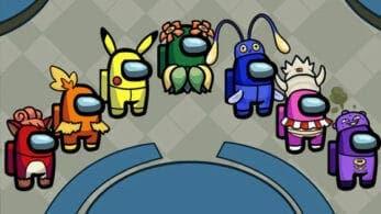 Echa un vistazo a estas skins fan-made de Pokémon para Among Us