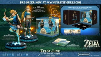 First 4 Figures abre las reservas de sus nuevas estatuas de Link y Zelda de Breath of the Wild con este vídeo