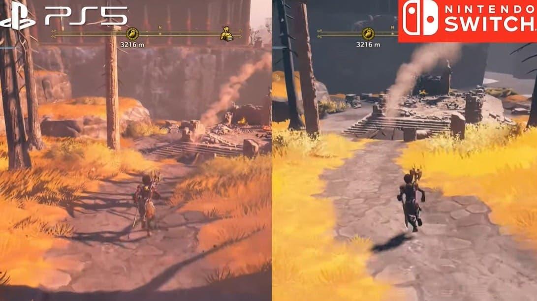 Immortals Fenyx Rising: Primer gameplay en Nintendo Switch y comparativa con PS5