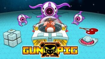 Gunpig: Firepower For Hire se lanzará el próximo 4 de diciembre en Nintendo Switch