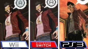 Comparativa en vídeo de No More Heroes: Wii vs. Nintendo Switch vs. PlayStation 3