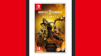 Este es el boxart de Mortal Kombat 11 Ultimate para Nintendo Switch