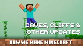 Minecraft estrena vídeo del desarrollo centrado en Caves and Cliffs