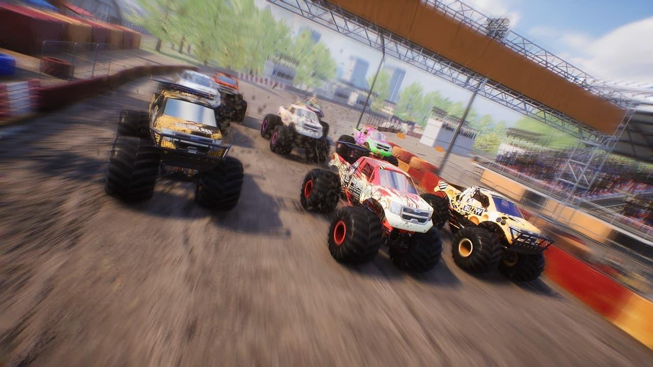 Monster Truck Championship ya está disponible en Nintendo Switch: tráiler de lanzamiento y gameplay