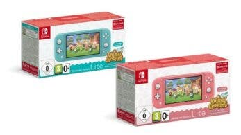 Europa confirma estos packs de Nintendo Switch Lite + Animal Crossing: New Horizons