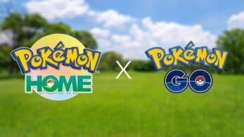 Finalmente todos los entrenadores de Pokémon GO puede acceder a la conectividad con Home