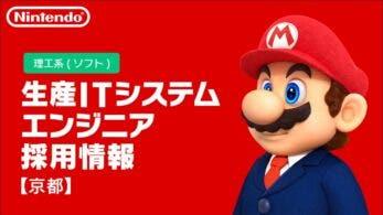 Nintendo busca un ingeniero de sistemas informáticos de producción