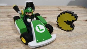 Así es el circuito de Sergio Salon Games en Mario Kart Live: Home Circuit