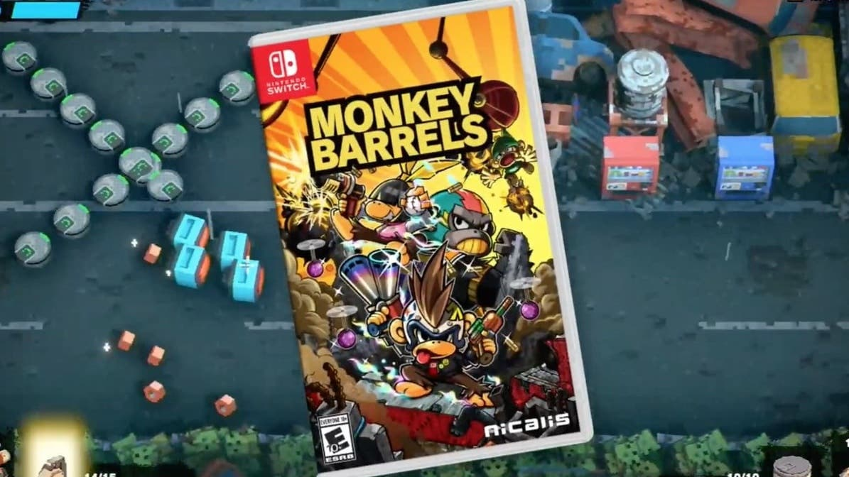 Billion Road y Monkey Barrels recibirán una versión física en Nintendo Switch