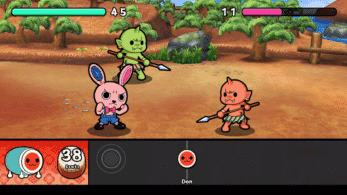 Taiko no Tatsujin: Rhythmic Adventure Pack se luce en este gameplay