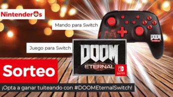[Act.] ¡Sorteamos una copia de DOOM Eternal para Nintendo Switch + mando Pro de PowerA para Nintendo Switch!