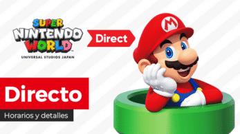 ¡Sigue aquí en directo el nuevo Super Nintendo World Direct de hoy! Horarios y detalles