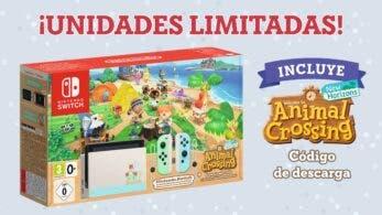 La Nintendo Switch edición Animal Crossing: New Horizons vuelve a estar disponible, aunque en unidades limitadas
