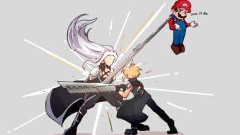 Echad un vistazo a algunos divertidos memes y fanarts tras el anuncio de Sephiroth como nuevo luchador DLC de Super Smash Bros. Ultimate