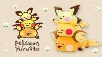 La tercera serie de la colección de figuras Pokémon Yurutto llegará el 19 de diciembre a Japón