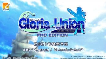 Se anuncia Gloria Union: Twin Fates in Blue Ocean FHD Edition para Nintendo Switch