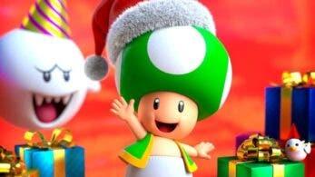 Nintendo comparte un nuevo y navideño fondo de pantalla a través de LINE