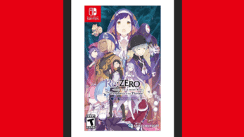Así luce el boxart americano de Re:Zero – Starting Life in Another World: The Prophecy of the Throne