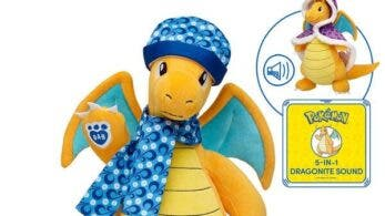 Dragonite se une a la gama de peluches Pokémon oficiales de Build-a-Bear