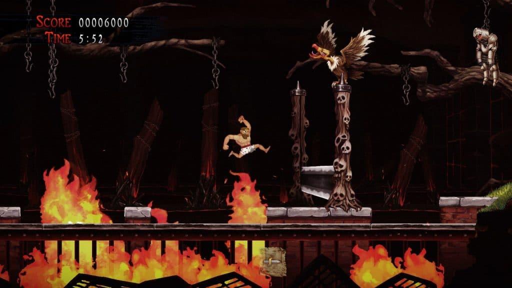 Ghosts 'n Goblins Resurrection nos muestra más escenas de su desarrollo en este vídeo