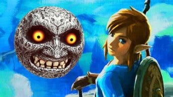 Creen haber hallado oculta la Luna de Zelda: Majora's Mask en Breath of the Wild