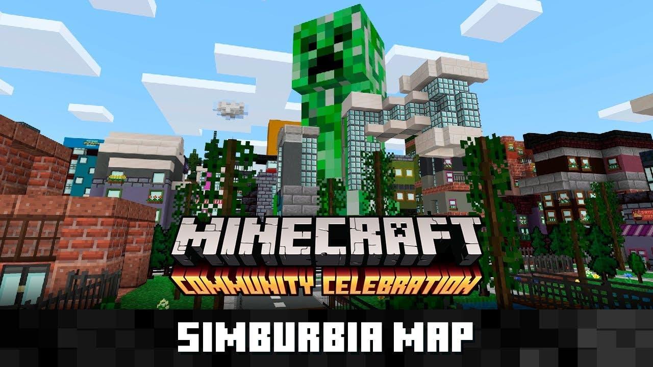 Minecraft anuncia la llegada del mapa Simburbia a su Marketplace con este vídeo