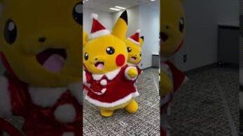 Vídeo: Las mascotas Pokémon de Pikachu atacan de nuevo por Navidad