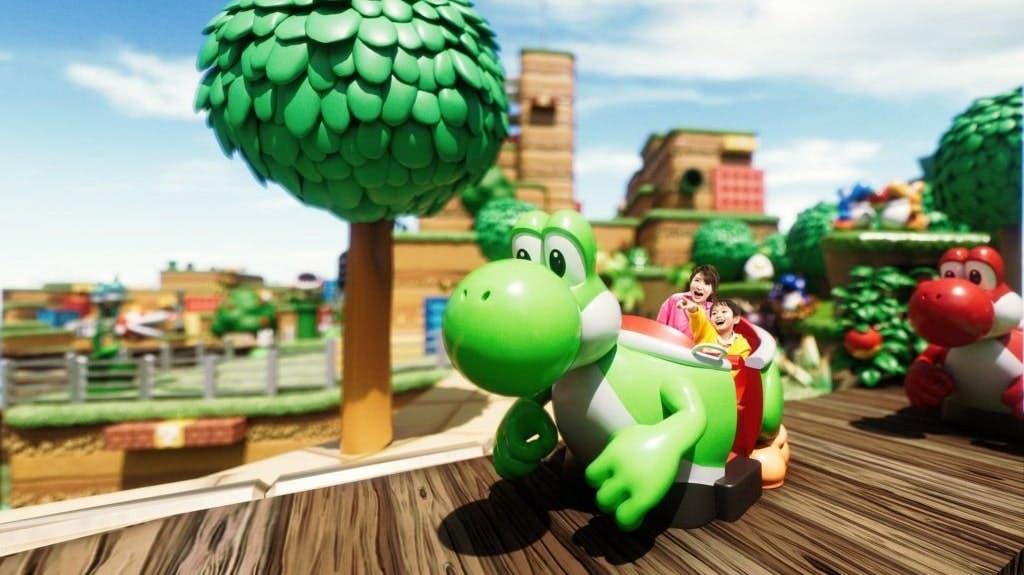 Vídeo nos muestra el recorrido completo de la atracción de Yoshi en Super Nintendo World, incluyendo al Capitán Toad hablando