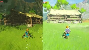 Comparativa detallada en vídeo de la Meseta de los albores: Hyrule Warriors: La era del cataclismo vs. Zelda: Breath of the Wild