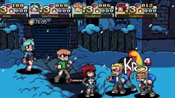 Este gameplay nos muestra el modo cooperativo para 4 jugadores de Scott Pilgrim vs. The World: The Game – Complete Edition en Nintendo Switch