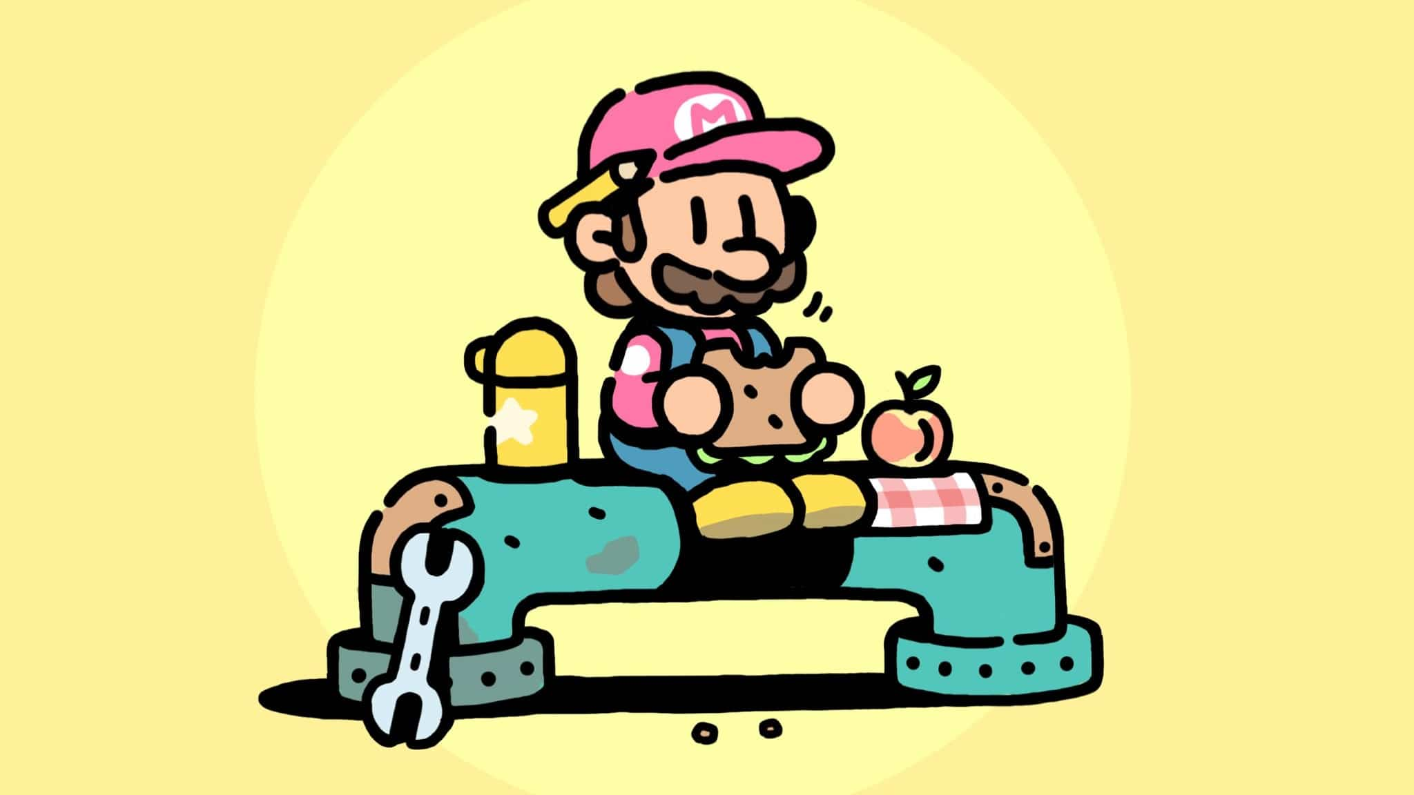 James Turner, el director artístico de Pokémon Espada y Escudo, publica estas ilustraciones de Super Mario como fontanero