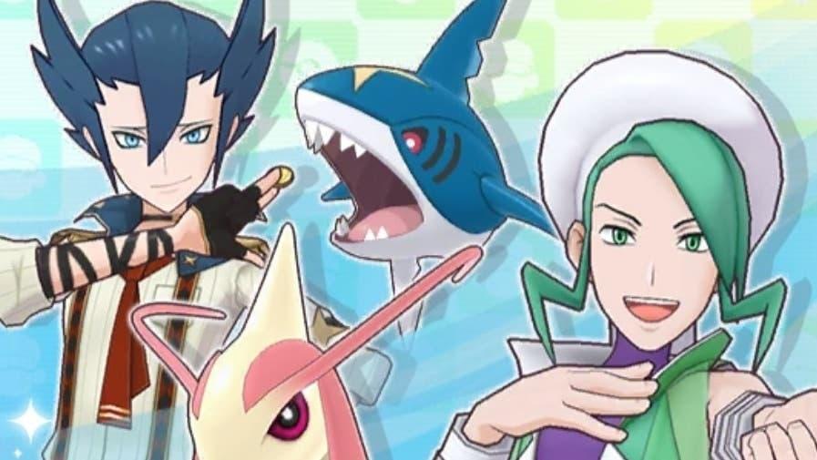 El reclutamiento destacado de Plubio y Aza Traje S ha comenzado en Pokémon Masters EX