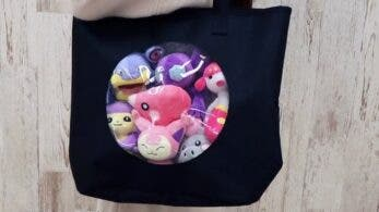 Así lucen los bolsos de la colección Pokémon Fit, a la venta en el Pokémon Center Online de Japón