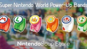 Ya a la venta las pulseras de Super Nintendo World con envío internacional